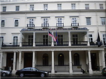 TQ2879 : Malaysian Embassy, Belgrave Square SW1 by Robin Sones
