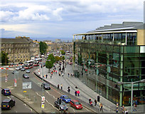 NT2674 : Leith Street and Leith Walk by Thomas Nugent