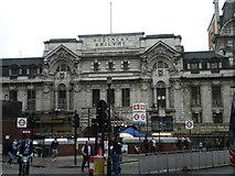 TQ2879 : Suburban entrance, London Victoria Station, Victoria Street SW1 by Robin Sones