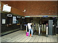 TQ2078 : Ticket office, Chiswick Park underground station by Stacey Harris