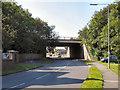 SD6607 : St John's Road, Motorway Bridge by David Dixon