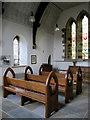 SD7355 : Inside St James' church, Dalehead by John S Turner