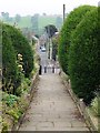 NZ0737 : Church Lane, Wolsingham by Andrew Curtis