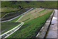 SD9332 : Widdop Reservoir dam by Phil Champion