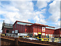 TQ2575 : Wandsworth recycling centre by Stephen Craven