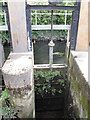 TQ2574 : Sluice on the Wandle by Stephen Craven