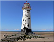 SJ1285 : Point of Ayr Lighthouse by Mat Fascione