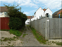 TQ5704 : Back alley, Polegate by Robin Webster