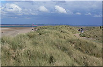 SJ1285 : Sand dunes at Talacre Beach by Mat Fascione