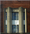 TQ4085 : Art Deco detail, Forest Gate by Jim Osley
