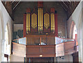 TQ8431 : Organ in Rolvenden Church by Julian P Guffogg