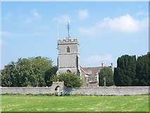 ST5434 : St Dunstan, Baltonsborough by Geoff Pick