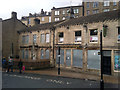 SD9927 : The Inn on the Bridge - boarded up pub in Hebden Bridge by Phil Champion