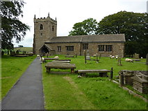 SD9350 : The Parish Church of All Saints, Broughton with Elslack by Alexander P Kapp