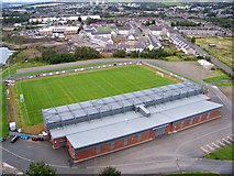 NS4074 : Strathclyde Homes Stadium - Home Of Dumbarton FC by James T M Towill