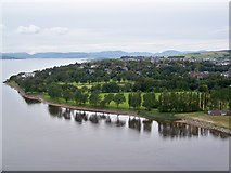 NS3974 : Levengrove Park, Dumbarton by James T M Towill