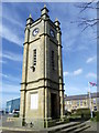 NU2604 : Clock Tower War Memorial, Amble by Maigheach-gheal