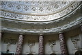 SP6737 : Stowe House, marble hall by Graham Horn