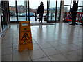 SE0924 : A slippy floor, Halifax station by Phil Champion