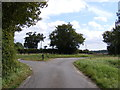 TM2757 : Old Park Farm Road by Adrian Cable