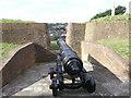 TQ7568 : Upper Cornwallis Battery (3 of 3) by David Anstiss
