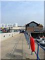 TQ3303 : West Quay, Brighton Marina by Simon Carey