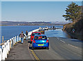 SD4780 : Very High Tide on the road to Arnside by Steve Houldsworth