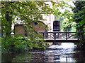TQ2668 : Restored waterwheel in Morden Hall Park by Stephen Craven