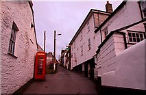 SW9980 : Church Hill in Port Isaac by Steve Daniels