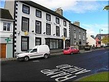C2502 : Central Hotel, Raphoe by Kenneth  Allen