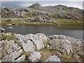 NY2406 : Crinkle Crags from Three Tarns by Peter S