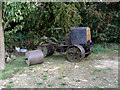 SK6837 : Cricket field roller by Alan Murray-Rust