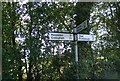 TM2158 : Roadsign on Otley Road by Adrian Cable