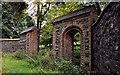 J2066 : Old gateway, Brookhill near Lisburn by Albert Bridge