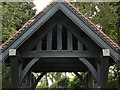 SK6836 : Cropwell Butler Cemetery lych gate by Alan Murray-Rust