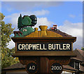 SK6837 : Village Sign, Cropwell Butler by Alan Murray-Rust