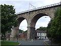NZ2642 : Durham railway viaduct by Malc McDonald