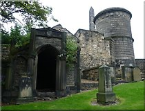 NT2674 : Old Calton Burying Ground by kim traynor