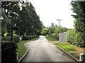 SP2481 : Drive to Meriden Hall developments by Robin Stott