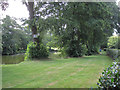 SP2481 : Private lake near Meriden Hall  by Robin Stott