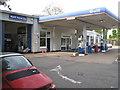 SP2482 : Porsche dealer and petrol station  by Robin Stott