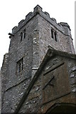 ST2214 : Sundial and tower, Otterford by Nick Chipchase