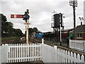 TL8928 : Chappel and Wakes Colne railway station by Andy Parrett