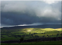 NY7906 : Sunlight on Birkett Hill by Karl and Ali