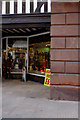 SJ4066 : Stone Arch and Shop Front, Eastgate by Mark Anderson