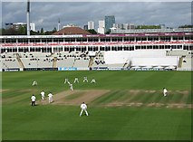 SP0684 : Edgbaston Cricket Ground: view from the new pavilion by John Sutton