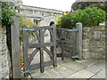 SP7821 : Church gates, Oving by Basher Eyre