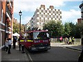 TQ2978 : Fire engine in Vincent Street Westminster by PAUL FARMER