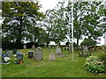 SP8328 : Churchyard, Holy Trinity Drayton Parslow by Basher Eyre
