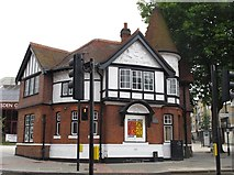 TQ2284 : Willesden Green Library Centre, High Road, NW2 by Mike Quinn